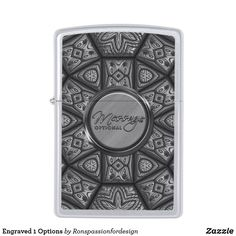 Shop Engraved 1 Options Zippo Lighter created by Ronspassionfordesign. Custom Lighters, Lighter Fluid, Design Guidelines, Zippo Lighter, Stay Classy, Polished Chrome, Keep It Cleaner, It Is Finished, Consideration