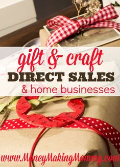This list has current direct sales companies that offer gifts or craft type products or services. Learn more about the home business they offer as well. Home Party Business, Craft Business, Home Based Business, Business Sales, Business Tips, Business Essentials, Business Planning, Home Business Opportunities, Company Gifts