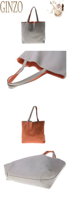 6c0e901f681 Auth Pre owned Hermes Double Sens 45 Clemence Pearl Gray   Orange O Stamp  book now
