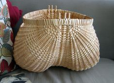 Extra Large Potato Basket by nmlbaskets on Etsy, $125.00
