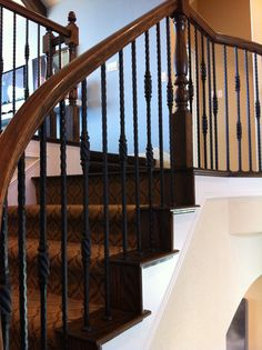 Wonderful Kelly Loves This Style Of Stair Rails
