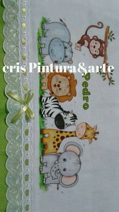 Pinturas Baby Applique, Baby Embroidery, Hand Embroidery Designs, Embroidery Patterns, Clipart Baby, Quilt Baby, Baby Painting, Painting For Kids, Thread Painting
