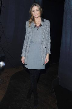 Elisabetta Franchi, Paris Fashion Week 2014, Olivia Palermo