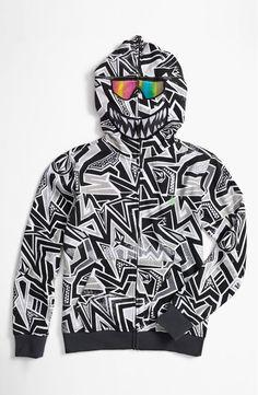 e0a29d264cf Volcom  Ktex  Zip Up Mask Hoodie (Big Boys) by nordstrom