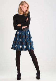 fe003ba7a843 Anna Field - Jerseykleid - black moroccan blue Tageskleider, Legere Kleider,  Schwarz,