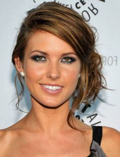 Simple Formal Updo Hairstyles For Long Straight Hair
