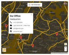 UBER Google Maps for WordPress - Download plugin here : http://codecanyon.net/item/uber-google-maps-for-wordpress/10754256?ref=pxcr