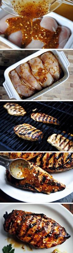 Grilled Honey Mustard Chicken - 15 Grilled Chicken Recipes to Make This Summer | GleamItUp