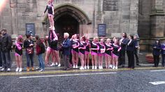 @EveningChron  South Shields Cheerleading club put on a street display to welcome #olympictorch to Newcastle Quayside twitpic.com/9ws4kt