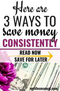 Saving money tips. H