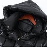 Hooded Slit Women Winter 90% Duck Down Jackets Long Warm Women Down Co – SimpleLinenLife