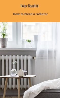 Do you know how to bleed a radiator? Bleeding radiators is a pretty quick and easy task. You may find during winter that you need to bleed a radiator in your home if it's not getting as hot as it should be, if it's only warming up towards the bottom or in certain areas, or if it's making odd noises as it heats up. If you've experienced any of these signs then it's probably time to give your radiators a bleed. Home Hacks, Radiators, Beautiful Homes, Curtains, House, Furniture, Signs, Home Decor, Winter