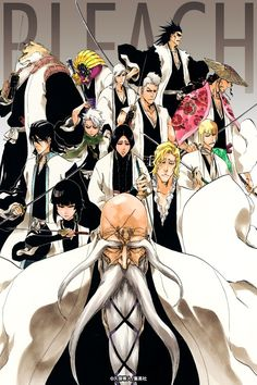 Bleach: The Gotei 13 by THEDUDEBLEACH.deviantart.com on @deviantART