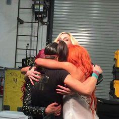 The Four Horsewomen Wrestling Divas, Women's Wrestling, Wwe Girl Wrestlers, Pamela Martinez, Wwe Pictures, Wwe Women's Division, Rebecca Quin, Wwe Tna, Wwe Girls