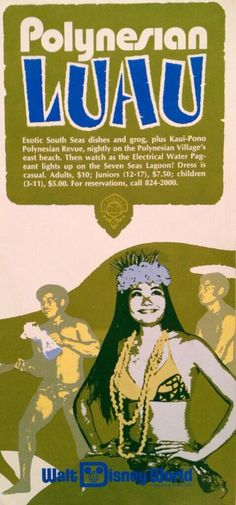 Polynesian Resort Advertisement from the 70's