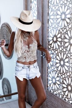 Photography – Bobby Bense Model/Styling – Helen Janneson Bense Location – Mullaloo beach, WA, Cape Panwa, Thailand   Outfit Details Look 1 Adore Lace crop | Move Over Denim Jacket | Denim Shorts | Belt | Boots | Bag | Hat | Jewelry   Look 2 Cruz Romper | Gypset Lariat | Hat | Hunter Belt | Moonstone Ring | Mandala … … Continue reading →