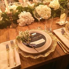 Excited for an amazing dinner at @havenskitchen to celebrate @amazon's new wedding registry platform! The tablescape is stunning #amazonweddingregistry #placesetting #weddinginspiration // See this post on Instagram: http://ift.tt/20zP9L8