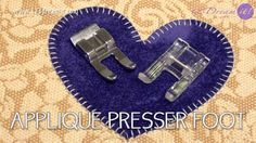 Applique presser foot