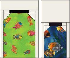Bug Jar Quilt Block Patterns - Illustration © Janet Wickell