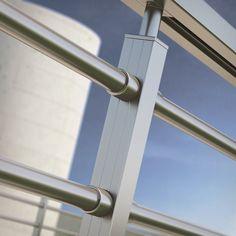 Metal Handrails, Steel Handrail, Staircase Handrail, Stair Railing, Steel Railing Design, Stainless Steel Staircase, Balcony Grill, Fence Design, Stairways
