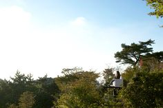 hidemi nishida studio floats five garden sky couches in japan - designboom   architecture