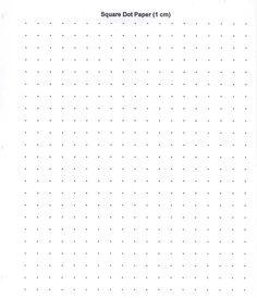 Cm Dot Graph Paper  Math    Graph Paper Bullet