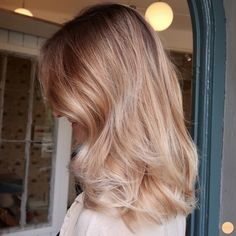 Beige blonde balayage – Welcome My World Beige Blonde Balayage, Balayage Hair, Beige Hair, Pink Hair, Down Hairstyles, Hair Day, Gorgeous Hair, Hair Looks, Dyed Hair