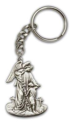 Antique Silver Guardian Angel Keychain by Bliss, http://www.amazon.com/dp/B0037Z1QMG/ref=cm_sw_r_pi_dp_.v4Pqb12GMFKG