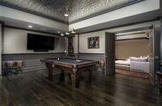 A great game room next to the theater room in this Franklin luxury home Franklin Homes, Game Room, Luxury Homes, Home And Family, Bed, Theater, Home Decor, House, Luxurious Homes