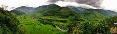 The Hapao Rice Terraces