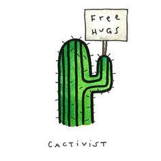 Afbeeldingsresultaat voor cactus tekening