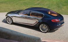 Bugatti Galibier Concept Rear Three Quarter