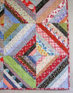 String Quilt - AKA Scrap Quilt