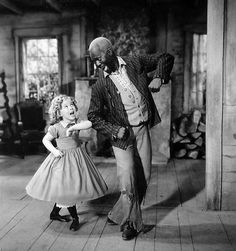 Shirley Temple and Bill 'Bojangles' Robinson. One of my childhood favorites. Go Shirley Temple! Tap Dance, Just Dance, Vintage Hollywood, Classic Hollywood, Mr Bojangles, Shirley Temple, Temple Movie, Robinson, Cinema Tv