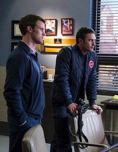 #ChicagoFire / NBC / Taylor Kinney / Jesse Spencer