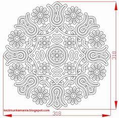 kalotaszegi minta - Google keresés Hungarian Embroidery, Folk Embroidery, Learn Embroidery, Modern Embroidery, Chain Stitch Embroidery, Embroidery Stitches, Embroidery Patterns, Stitch Head, Point Lace