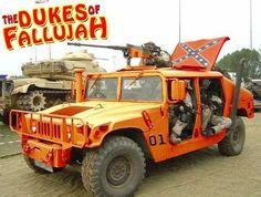The Dukes of Fallujah #Hummer #Humvee #Rvinyl  =========================== http://www.rvinyl.com/Hummer-Accessories.html