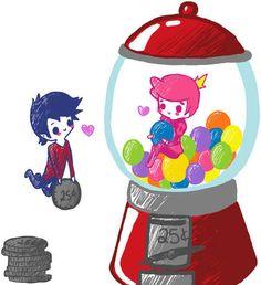 Marshall Lee & Prince Gumball - Adventure Time