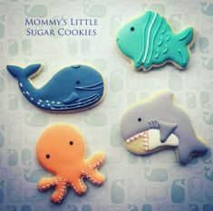17 Super Ideas For Cookies Decorated Birthday Party Favors Whale Birthday Parties, Baby Boy Birthday, Animal Birthday, Birthday Party Favors, Birthday Ideas, 4th Birthday, Whale Cookies, Wal, Birthday Cookies