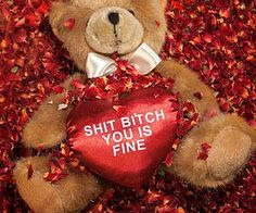 Thug Romantic Teddy Bear