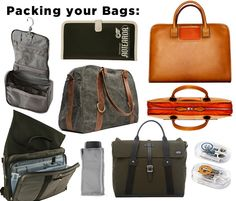 bags for tech and travel