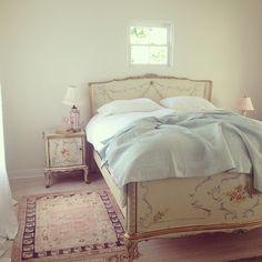 Rachel Ashwell lovely Bedroom - via Rachel Ashwell Facebook