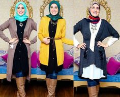 winter hijab styles, Egyptian hijab collection by NK designs http://www.justtrendygirls.com/egyptian-hijab-collection-by-nk-designs/