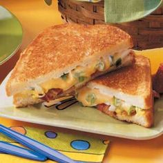 Bacon 'n' Egg Sandwiches.