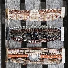 Bijoux fantaisie   Zoom en images de Bijoux fantaisie  tendance 2016-2017.  Les bracelets en cuir et bracelets multi-tours sont plus tendan...