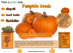 Very Interesting, I didn't know about this and to think I use to love eating pumpkin seeds as a kid..