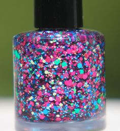 Summer Bouquet handmade custom nail polish