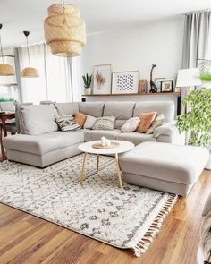 Colourful Living Room, Boho Living Room, Cozy Living Rooms, Home Interior, Interior Design Living Room, Living Room Designs, Living Room Decor, Living Room Ideas House, Living Room With Carpet