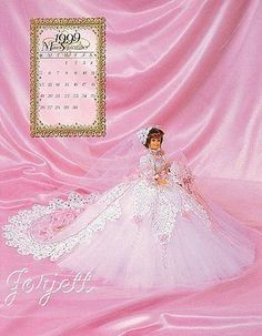 September, Annie's 1999 Bridal Dreams Collection crochet patterns