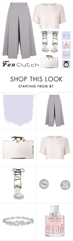 """FC III"" by sorinagabriela ❤ liked on Polyvore featuring Vilshenko, Charlotte Olympia, True Decadence, 3.1 Phillip Lim, Harry Winston, Jimmy Choo and MAC Cosmetics"